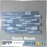 Het Goedkope Marmeren Mozaïek van uitstekende kwaliteit van de Prijs, het Witte Marmeren Mozaïek van de Steen