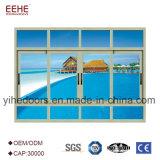 Дешевое окно Европ стандартное алюминиевое сползая для сбывания