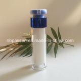 глянцеватая голубая акриловая безвоздушная бутылка 50ml для упаковывать косметики (PPC-NEW-161)