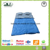 2人ポリエステル防水エンベロプの寝袋