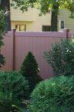 Cerca decorativa del vinilo del jardín colorido