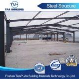 Venta caliente Bastidor de la estructura de acero de materiales de construcción para edificios prefabricados