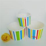 Stripe 130ml copos de sorvete
