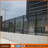 Schwarzes Puder-beschichtete galvanisierte Stahlzaun-Panels