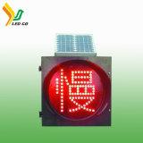 Poteau de signalisation actionné solaire de DEL pour des feux de signalisation indiquant la vente d'usine directement