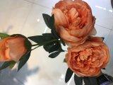 Pivoine Bud Fleurs artificielles promise pour la fête de mariage Flores Mariage