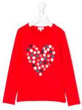 Sweatershirt impresso Heart-Shaped da menina da fábrica