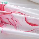 Apartamento de algodão luxo ODM Bedsheet impresso