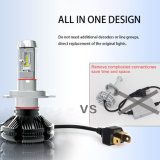 최고 밝은 50W 6000lm H7 H11 9005 9006 H4 차 LED 헤드라이트