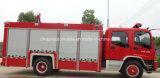 6つの車輪Isuzu 5つのTの水漕2つのTの泡のタンカーの消防車のトラック