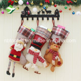 Рождество кораблей искусствоа ткани рождества украшает чулок мешка подарков