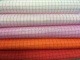 Pano antiestático da tela do poliéster do ESD para vestuários da sala de limpeza