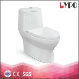 Di ceramica si raddoppia la toletta sanitaria a livello dell'un pezzo solo di Washdown del gabinetto della stanza da bagno degli articoli