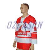 Impressão Digital Ozeason personalizada de Hóquei no Gelo Jersey