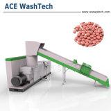 PP PE 플라스틱 폐기물 재생 작은 알모양으로 하기 선