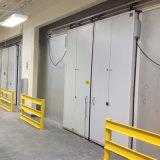 ステンレス鋼のフリーザー部屋か低温貯蔵の引き戸