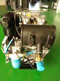 Luft abgekühlter Turbocharged überkomprimierter doppelter Verdoppelungzwilling zwei 2 Zylinder-Dieselmotor-Hochgeschwindigkeitsmotor für Wasser-Pumpen-Energien-Generator 14kw 19HP 3000rpm Twdt290f