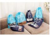 Fördernde kundenspezifische Polyesterdrawstring-Beutel für Schuhe oder Speicherung