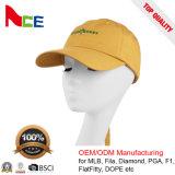 Fabricante China bordados personalizados de alta calidad pequeño logotipo Papá Cap