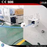 Pipe de PE de catalogue des prix de pipe de HDPE faisant la ligne d'extrusion de machines