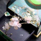 Parte superiore a cristallo dei retro della sposa 2018 del diadema del diamante della parte superiore monili in rilievo Handmade barrocco di cerimonia nuziale (EC12)