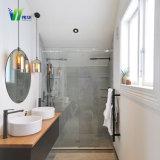 Cuarto de baño de cristal templado de la puerta de vidrio con CE, SGS, CCC, ISO9001