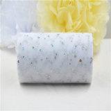 Glitter Sequin Panduola Tulle Roll 15cm 25 yardas de la decoración de boda
