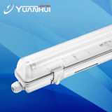 La luz del tubo LED 20W