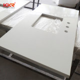 Blanc pur Comptoir de cuisine en granit artificiel