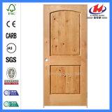 Porte de dispositif trembleur moulée par voûte lisse en bois solide