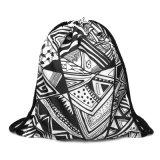2018 nueva moda cordón bolsas bolsa para los adolescentes de 39*30cm Mochila mini cadena con estudiantes de la escuela Bagpack Mochila