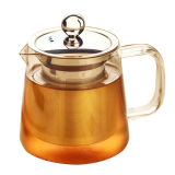 Neuer Entwurfs-Glastee-Potenziometer mit Edelstahl-Tee Infuser
