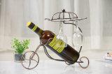 Домашний держатель бутылки вина металла шкафа вина бутылки Deco одиночный