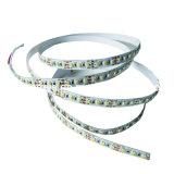 2 en 1 luz de tira ajustable del CCT SMD3528 LED del color dual de la viruta