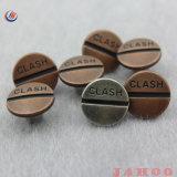 Botão de jeans de metal redonda Promocional Botão de Metal Personalizada de Fábrica