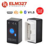 A++qualité ELM327 avec l'interrupteur V1.5 Version Elm 327 Bluetooth avec contacteur fonctionne sur Android Symbian Windows Livraison gratuite