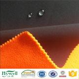 Tecidos de lã de vidro laminado Stretch casaco de inverno de forro de tecido Softshell