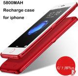 Teléfono móvil iPhone 6 7 8 Plug batería de respaldo externo para el iPhone 6 7 8 6s el tapón