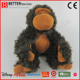Gorila suave realista del bebé de la felpa del juguete del animal relleno para los cabritos/los niños