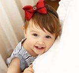 2017 Großhandelsblumen-Haar-Bandbowknot-Stirnband-Form-Baby-Haar-Zubehör-Haar-Verzierungen