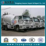HOWO 6*4 9куб бетона для продажи погрузчика заслонки смешения воздушных потоков