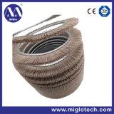 Brosse industrielle personnalisé pour l'exclusion de polissage de la brosse en spirale (TH100001)