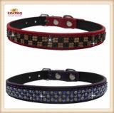 PU colorido collar de perro de mascota perro/Mazo de cables (KC0040)