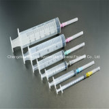 Factory Supply 2ml DC Three Shares Luer Slipway Disposable Syringe