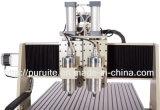 Router di legno sottile di CNC del macchinario dell'incisione del legno