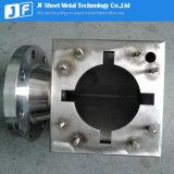Pièces de montage de la fabrication de feuilles de métal sur l'industrie de l'huile