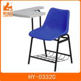 学校家具タブレットの会合の椅子が付いているプラスチック大学椅子