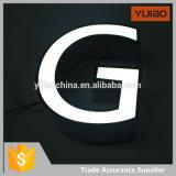 El canal entero puesto a contraluz Frontlit por encargo profesional del Lit LED de China firma la fábrica