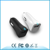 보편적인 이중 USB 차 충전기 2 포트 5V2.4A 차 충전기