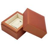 Veja o caso de madeira, papel de embalagem Caixa de Exibição de jóias, Dom Embalagem Caixa de jóias